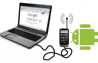 telefonu modeme dönüştürme
