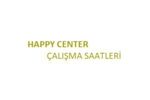 Happy Center Açılış Kapanış Saati Çalışma Saatleri
