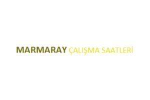 Marmaray Açılış Kapanış Saati Çalışma Saatleri