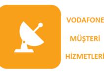 Vodafone Müşteri Hizmetleri Telefon Numarası