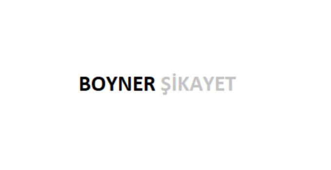 Boyner Şikayet