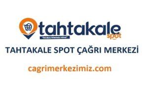 Tahtakale Spot Çağrı Merkezi İletişim Müşteri Hizmetleri Telefon Numarası