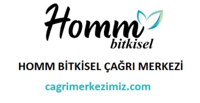 Homm Bitkisel Çağrı Merkezi İletişim Müşteri Hizmetleri Telefon Numarası